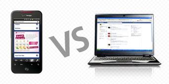 Mobile Web vs Traditional Web